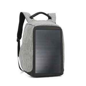 Solar Backpack Portable Power Panel Hiking Bag Hovall