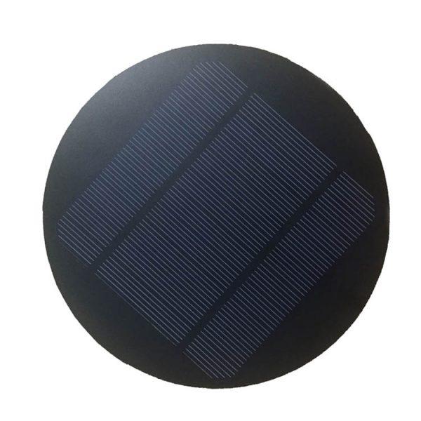 round solar panels