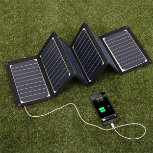 Foldable Solar Panel | Best Portable 100 Watt | Hovall