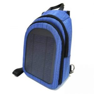 Hovall 7Watt 5 Volt Solar Backpack with USB Port