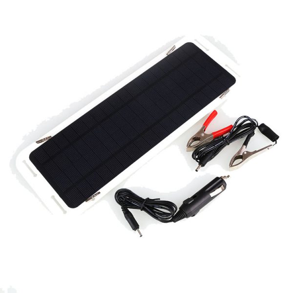 hovall solar car battery charger