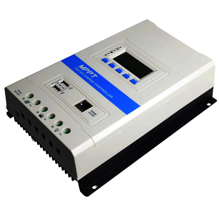 Hovall 10A MPPT Solar Charge Controller with Dual USB Output