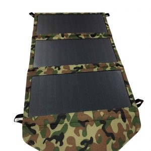 21 Watt Foldable Solar Charger with Dual USB Port